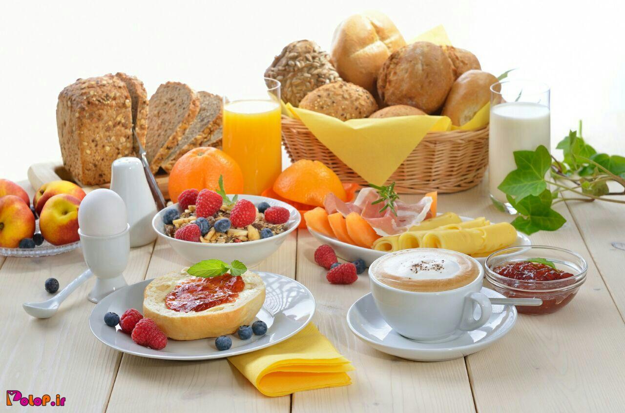 یک صبحانه رژیمی برای کوچک کردن شکم: