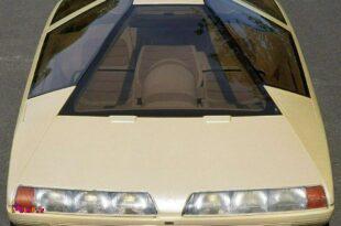 طرح مفهمومی از خودرویی که سیتروئن در نمایشگاه سال 1980 پاریس ارائه داده این شکلی بوده!