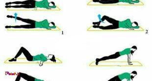 تمرینات لاغر کردن ران و باسن