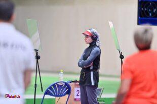 هانیه رستمیان در رقابت های تپانچه ۲۵ متر تیراندازی، در بخش دقت بین ۴۴ تیرانداز شونزدهم شد