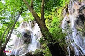 آبشار زیبا و با شکوه زردلیمه چهار محال بختیاری