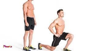 حرکت لانژ یا خیز به جلو برای فرم دهی عالی به باسن و ران
