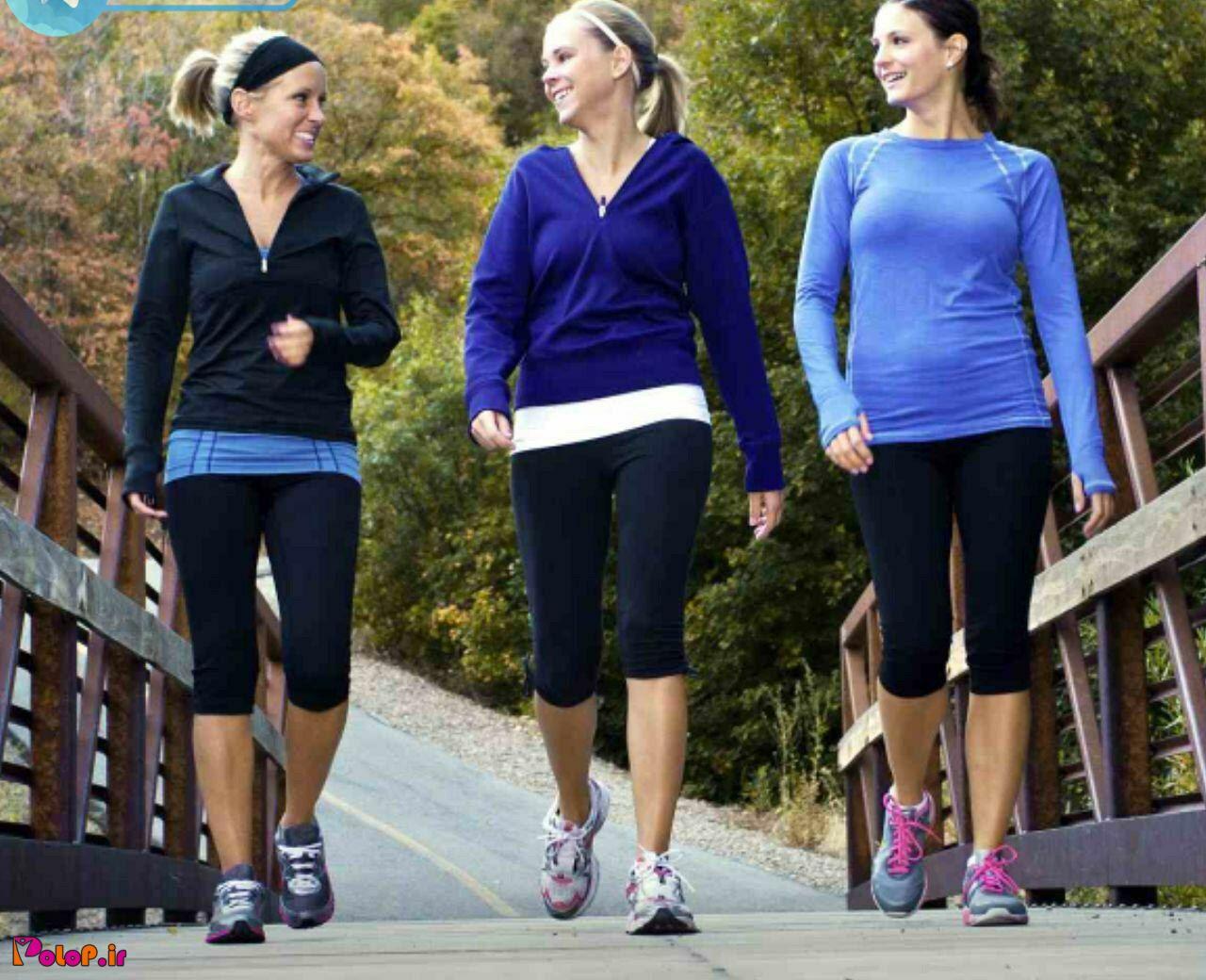 ورزش پیاده روی