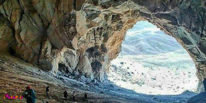 غار ايوب در دهج، شهرستان#شهربابک،#كرمان