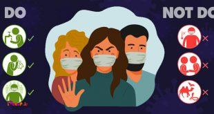 ️ذرات معلق حامل ویروس کرونا میتوانند ...