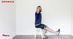 اسکات تک پایی به کمک صندلی