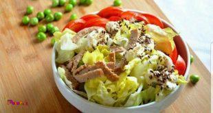 فواید پاشیدن پودر #تخم_کتان بر روی سالاد و سبزیجات: