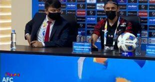 یحیی گلمحمدی در نشست خبری پیش از بازی با استقلال: