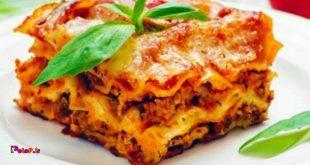 ماکارونی، پاستا و لازانیا غذای غلیظ محسوب می شوند