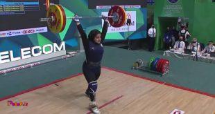تکرار تاریخ سازی «یکتا جمالی»؛ نقره جهان به دختر ایرانی رسید