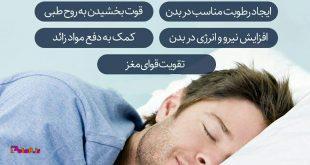 آثار خواب مناسب بر بدن