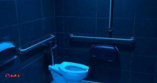 مک دونالد(یک فستفود زنجیرهای در آمریکاست) در توالتهای شعبههاش نور آبی استفاده میکنه