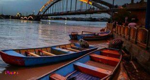 پل سفید یا پل هلالی نماد شهر اهواز و نخستین پل معلق ایران می باشد.