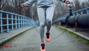 طناب زدن هم برایکوچک کردن شکمبسیار مفید است،