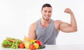 کلید اصلی عضله سازی تغذیه میباشد