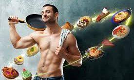 مشخصات برنامه غذایی یک بدنساز: